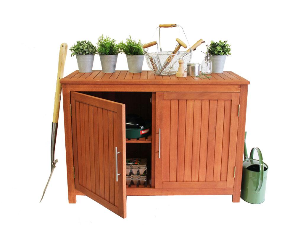 Gamonide Ich Liebe Meinen Garten Gartenschrank 120 X 55 X 85 Cm