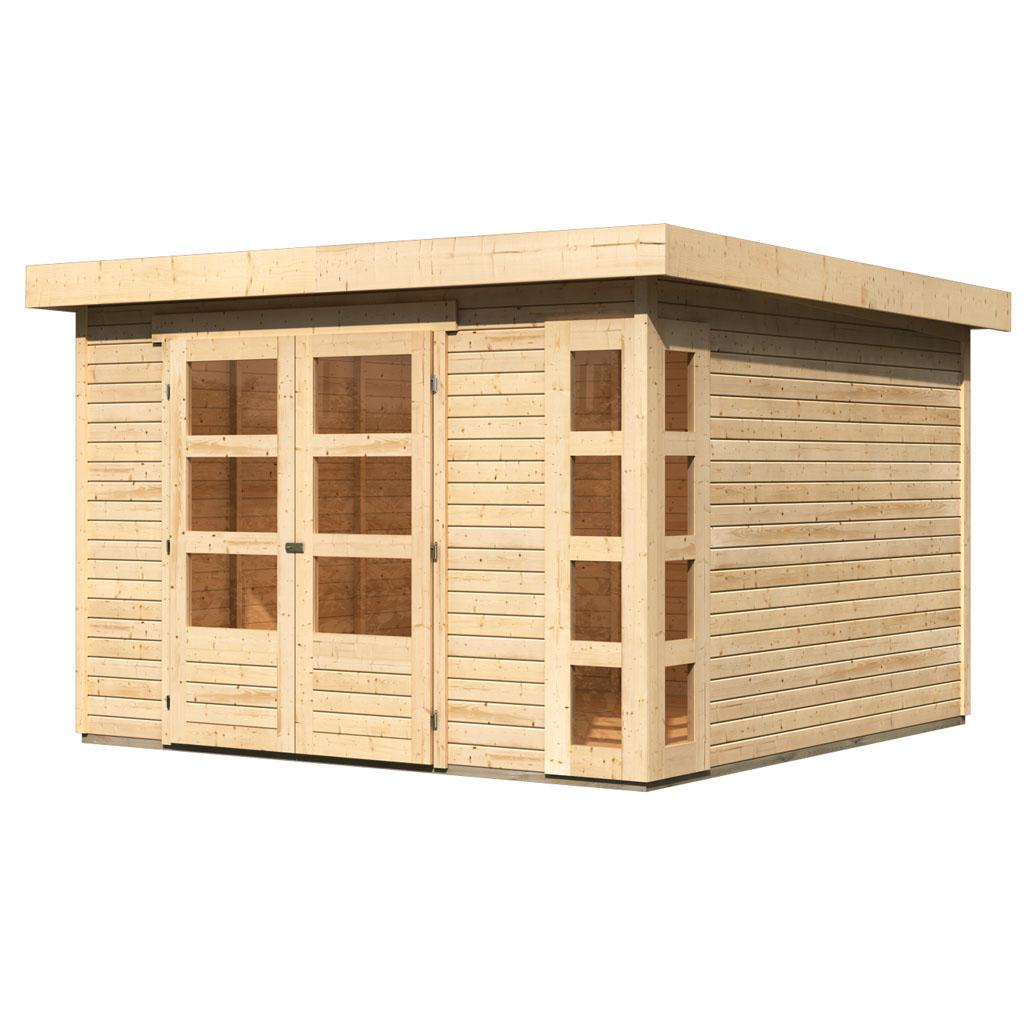 Gamoni De Ich Liebe Meinen Garten Woodfeeling 19 Mm Gartenhaus Kerko 6